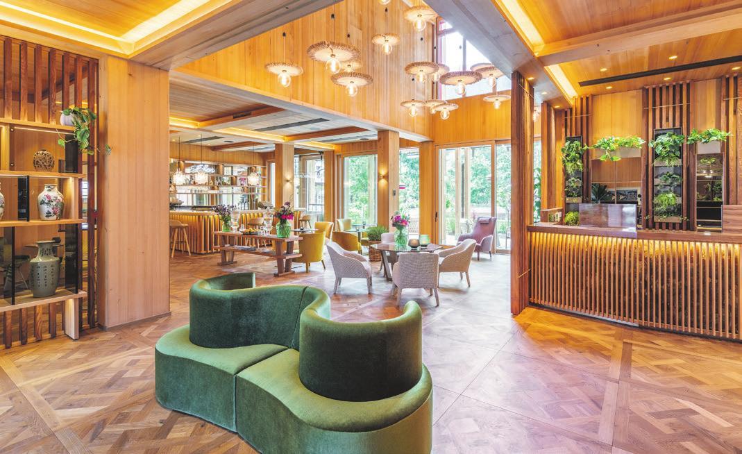 Die Lobby des MalisGarten Green Spa Hotels. Foto: ZillerSeasons