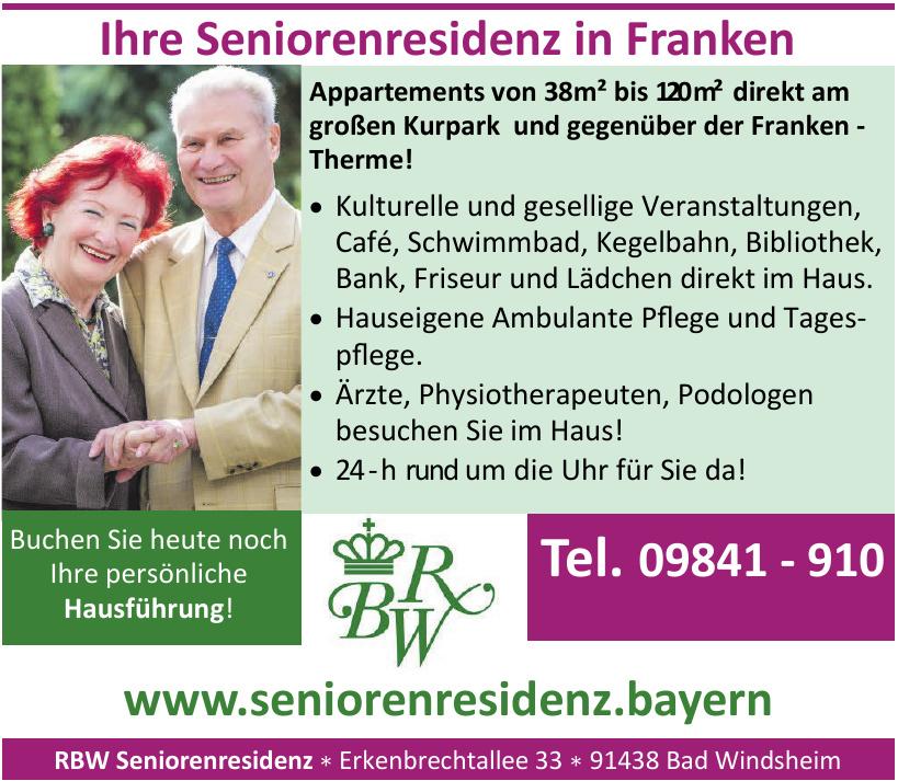 RBW Seniorenresidenz