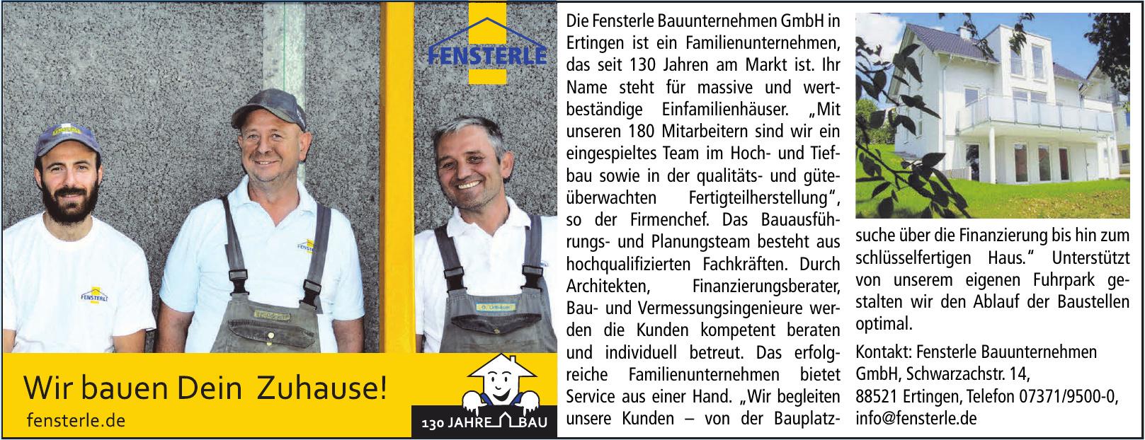 Fensterle Bauunternehmen GmbH