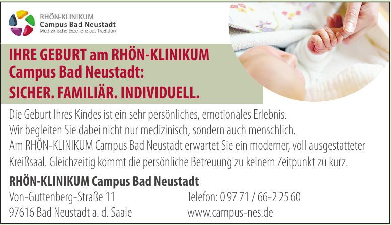 Rhön-Klinikum Campus Bad Neustadt