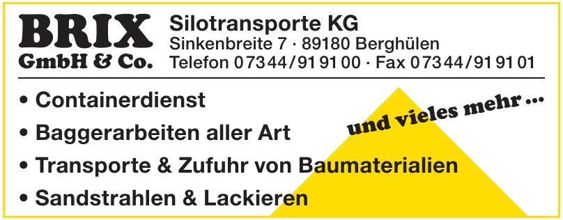 GmbH & Co. Silotransporte KG