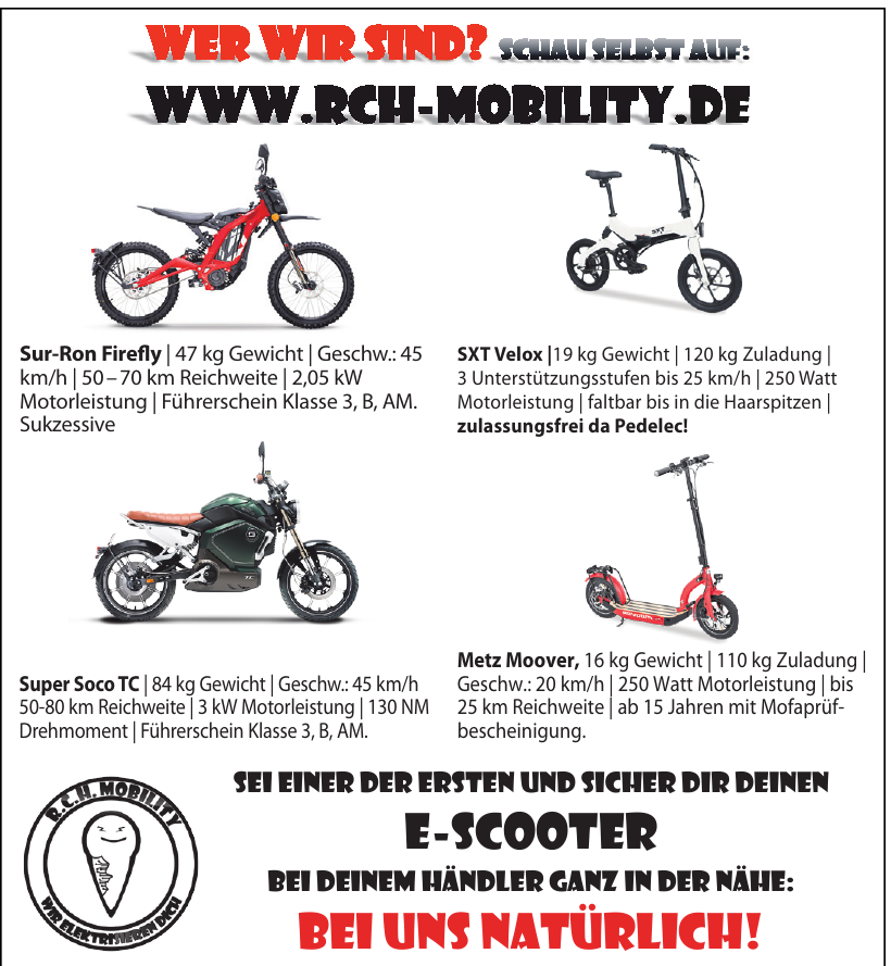 R.C.H. Mobility
