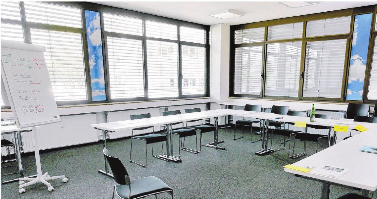 Jetzt gibt es moderne, helle Unterrichtsräume.