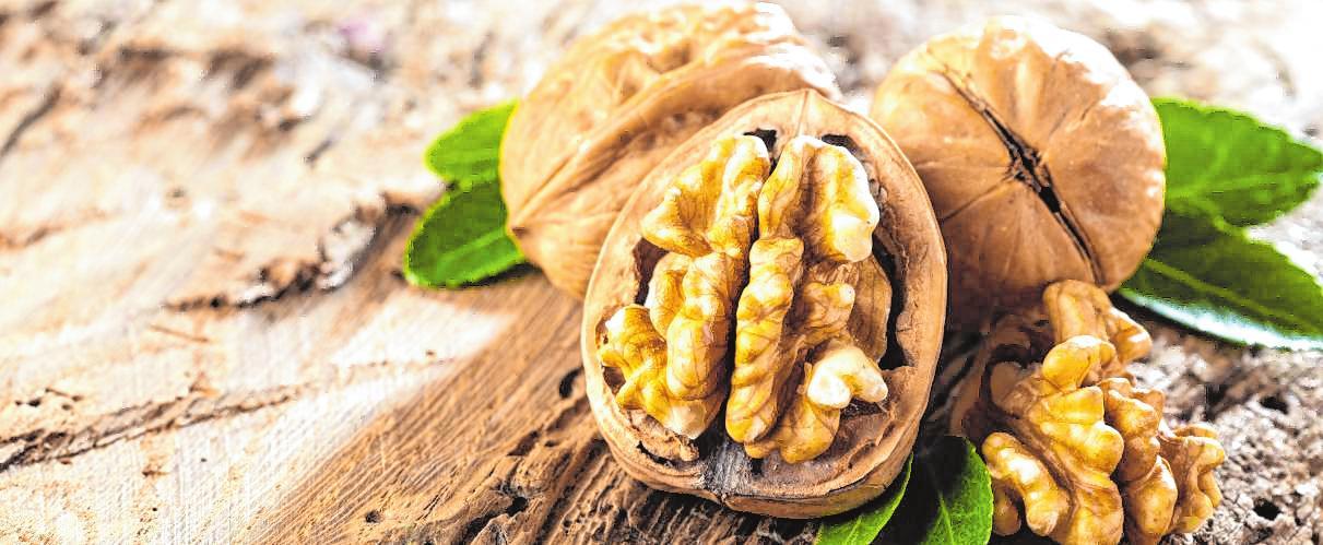 Walnüsse: nicht nur gesund, sondern auch lecker – unter anderem zu Wein. Bild: karepa - stock.adobe.com