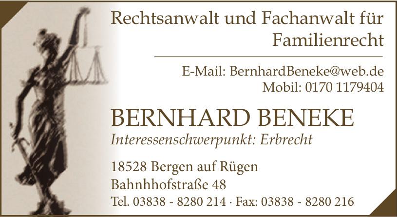 Bernhard Beneke