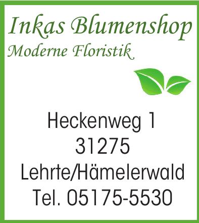 Inkas Blumenshop