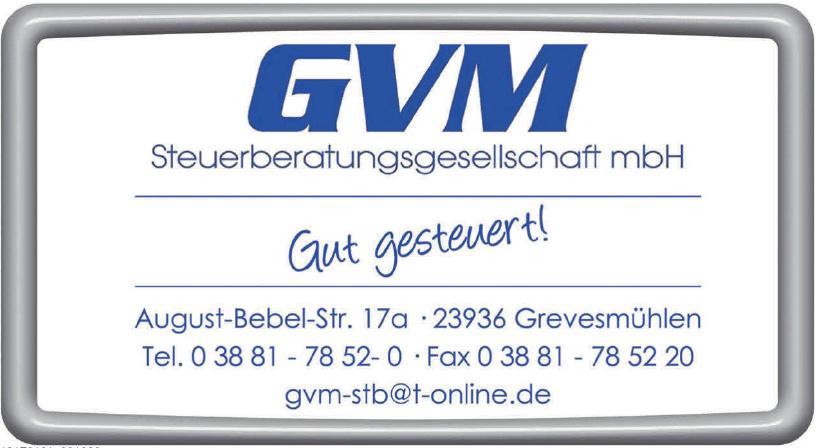 GVM Steuerberatungsgesellschaft mbH