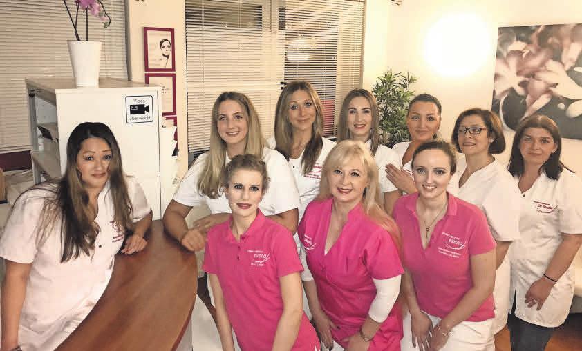 Das evena-Team widmet sich an zwei Standorten in Hannover der Schönheit und Pflege.