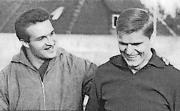 Zwei Ausnahmeathleten: Dieter Möhring (l.) wurde deutscher Meister im Zehnkampf, Horst Beyer startete 1964 bei Olympia.