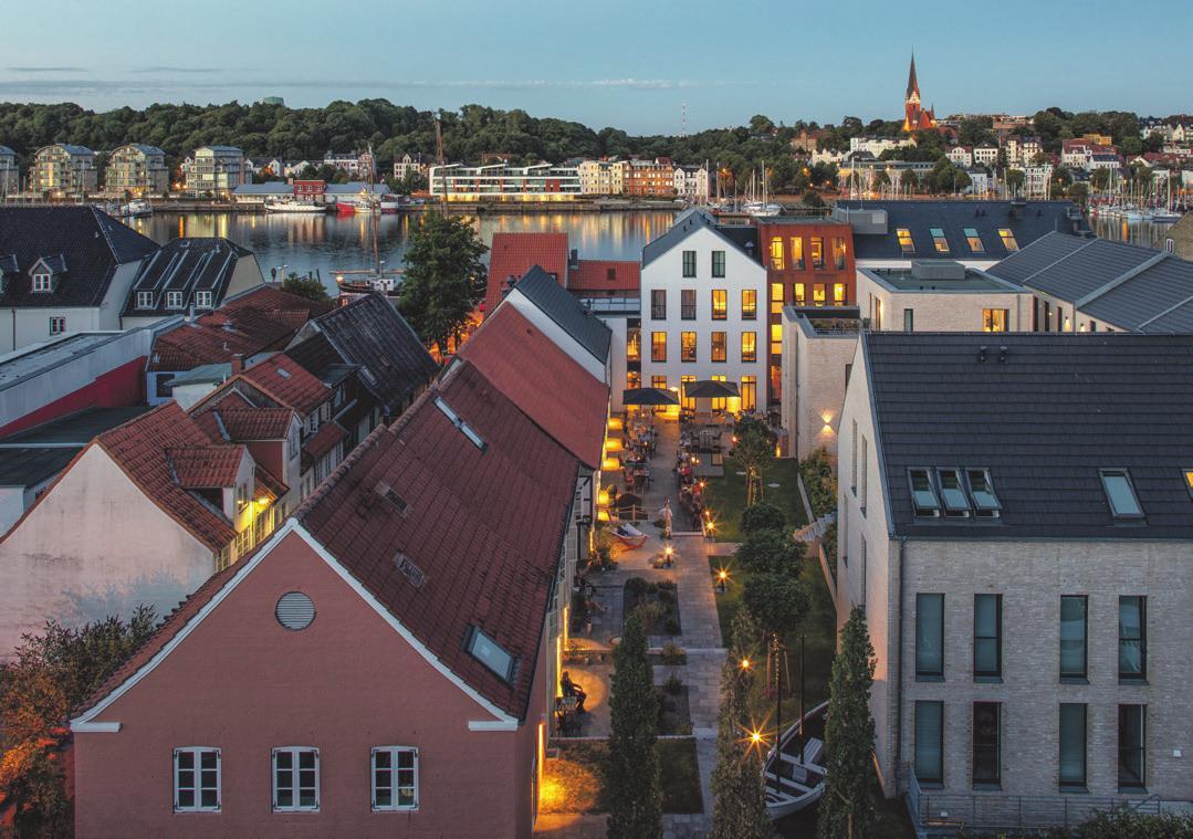 Einfach zauberhaft. Foto: Hotel Hafen Flensburg