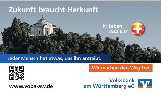 Volksbank am Württemberg eG