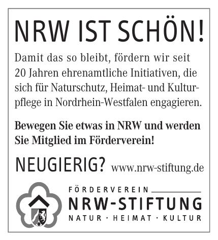 Förderverein NRW-Stiftung