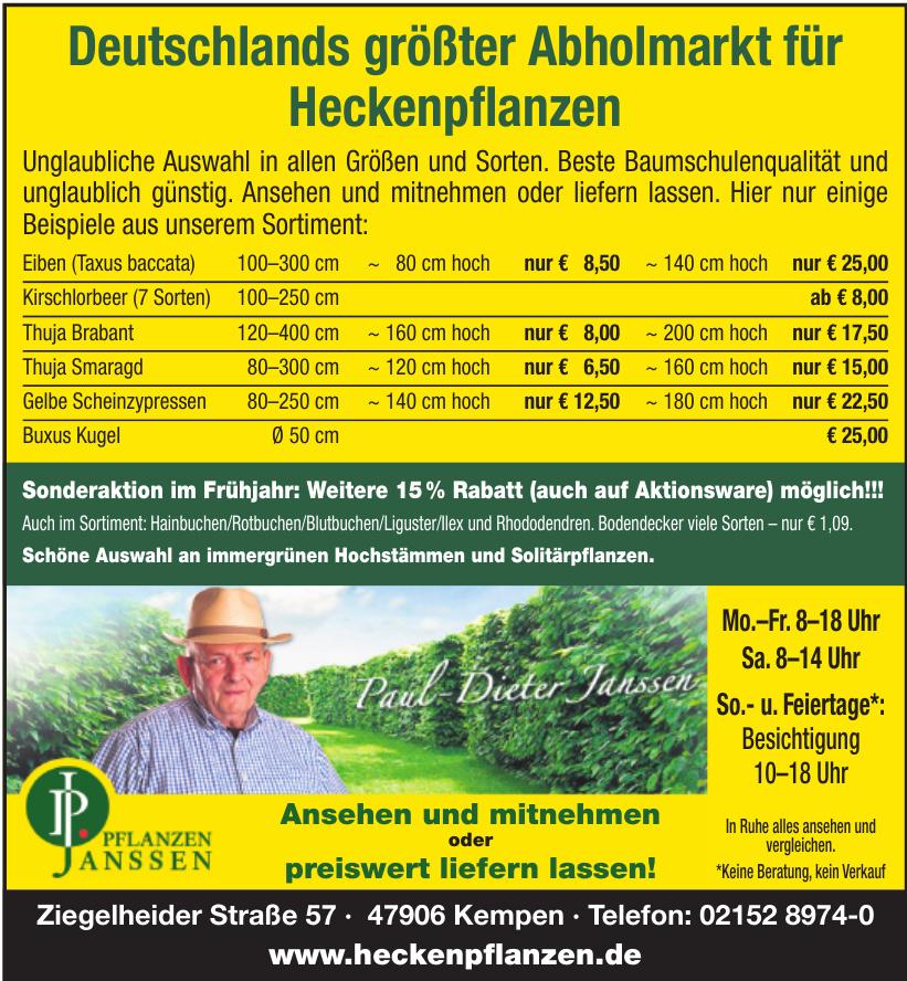 Pflanzen Janssen GmbH