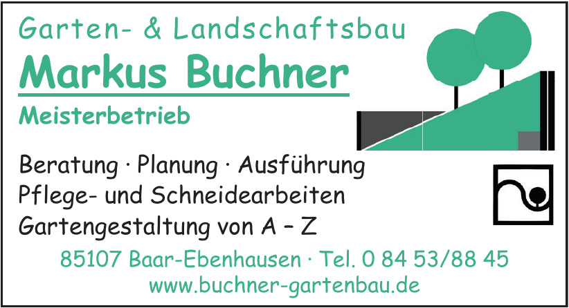 Garten- & Landschaftsbau Markus Buchner