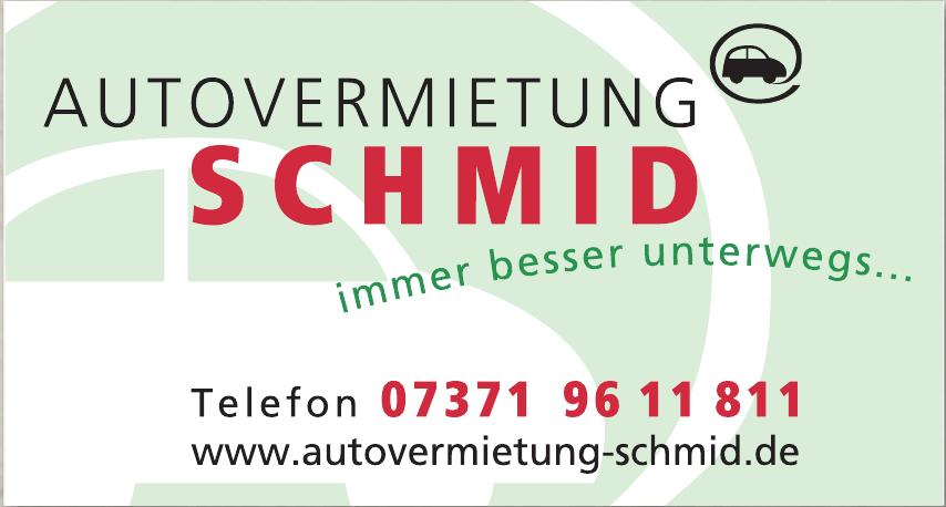 Autovermietung Schmid