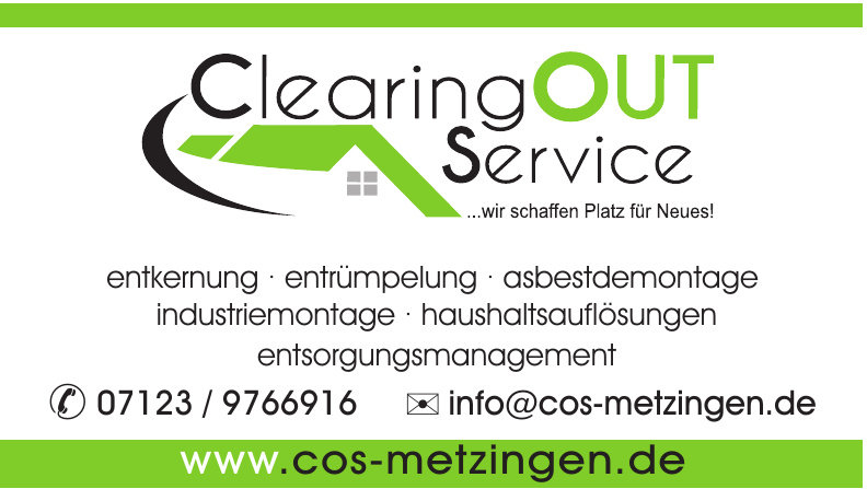 COS Clearing Out Service GmbH