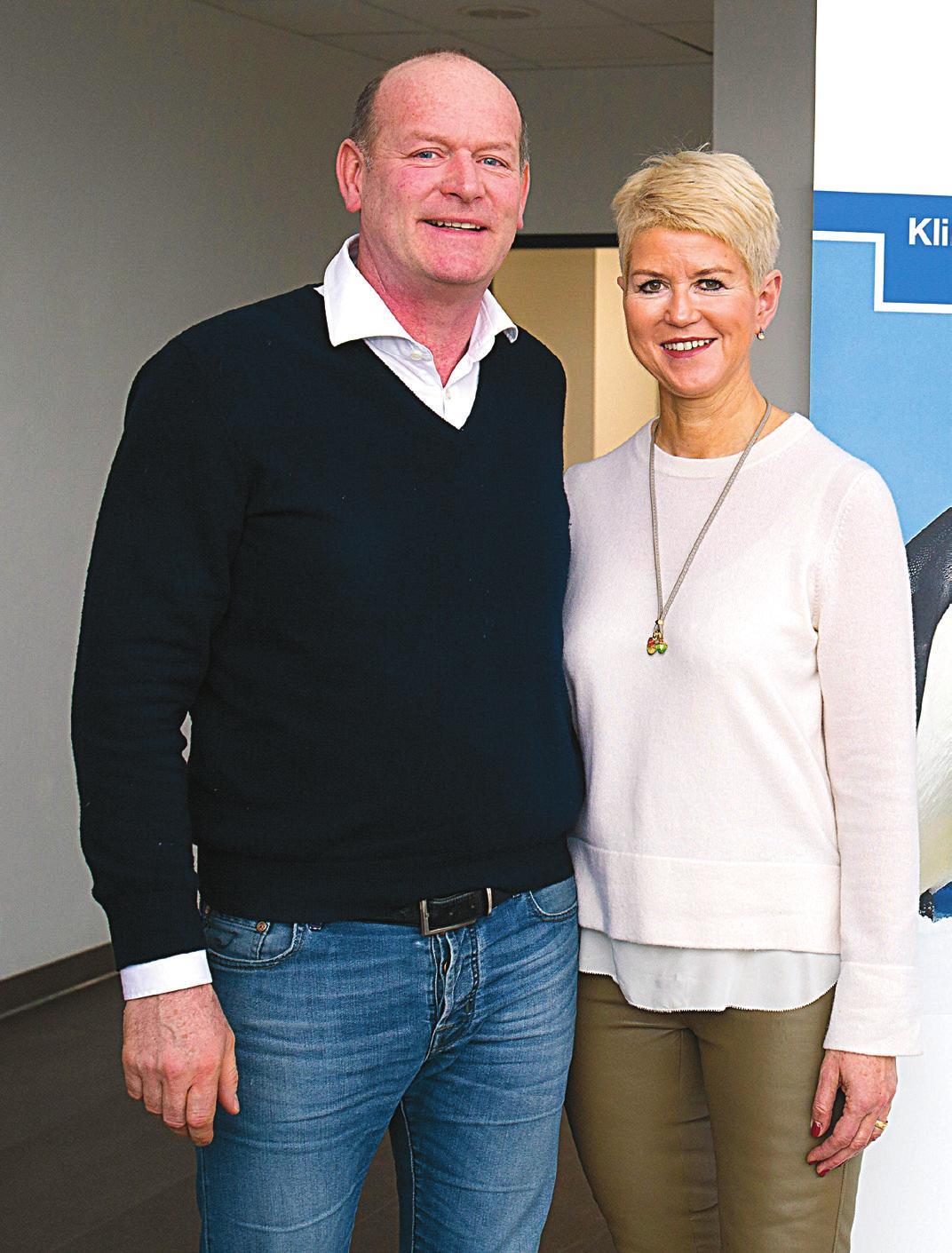 Karin und Friedrich Heidinger freuen sich über den gelungenen Neubau. Fotos: Thilo Keller