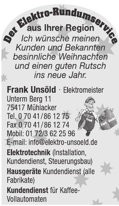 Frank Unsöld Elektrotechnik