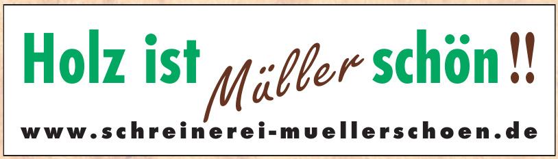 Schreinerei Müllerschön
