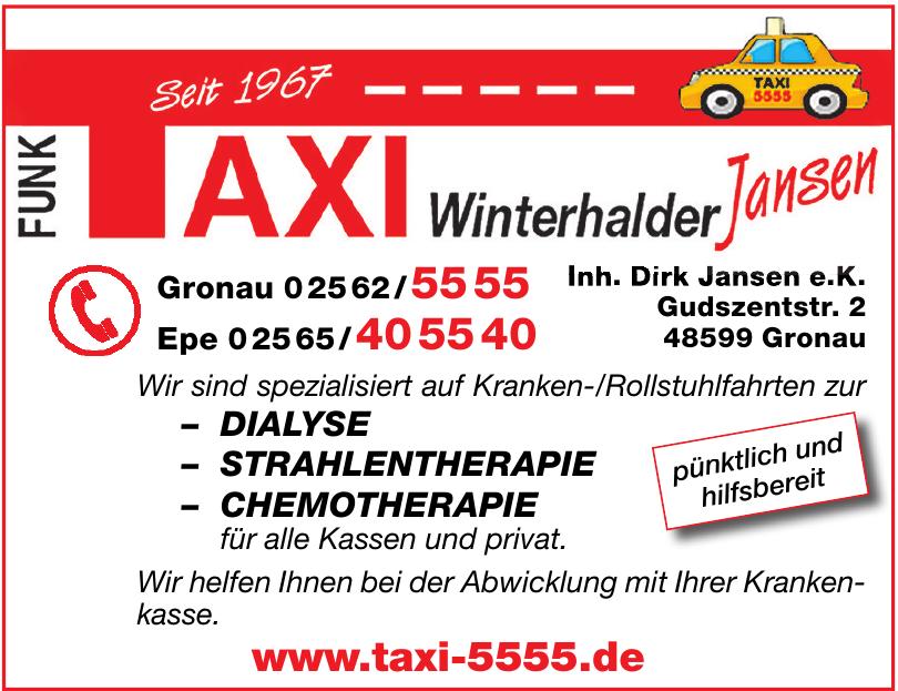 Taxi Winterhalder Jansen