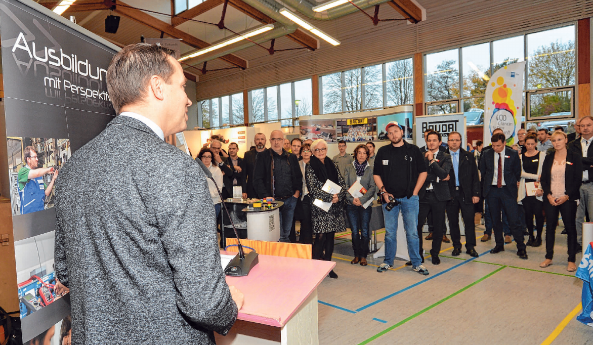 MdL Thomas Dörflinger hat im vergangenen Jahr die Messe eröffnet. FOTO: KLAUS WEISS