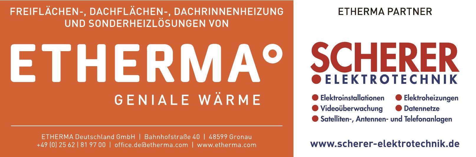 Scherer Elektrotechnik - Etherma Partner