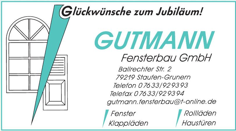 Gutmann Fensterbau GmbH