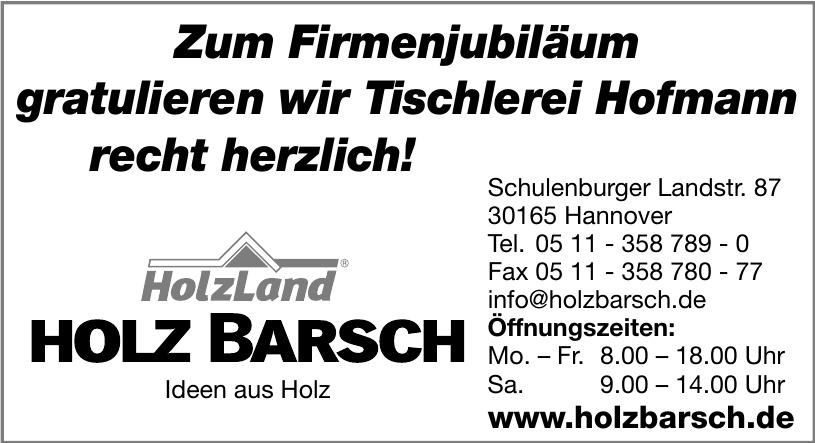 Holz Barsch