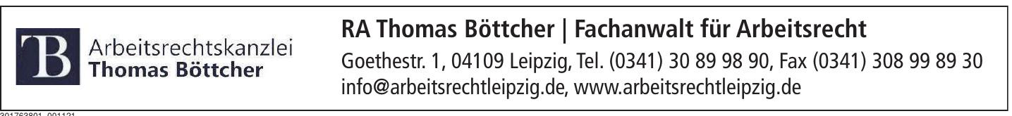 RA Thomas Böttcher