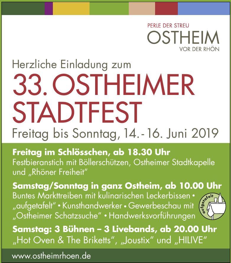 33. Ostheimer Stadtfest