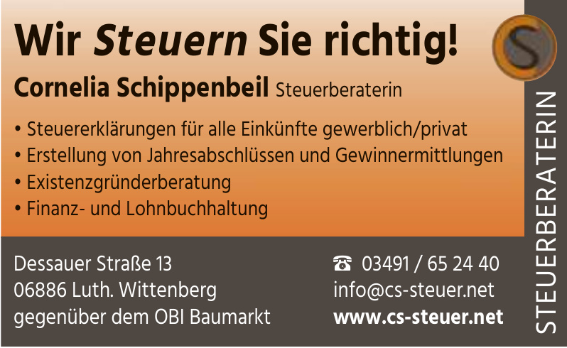 Cornelia Schippenbeil Steuerberaterin