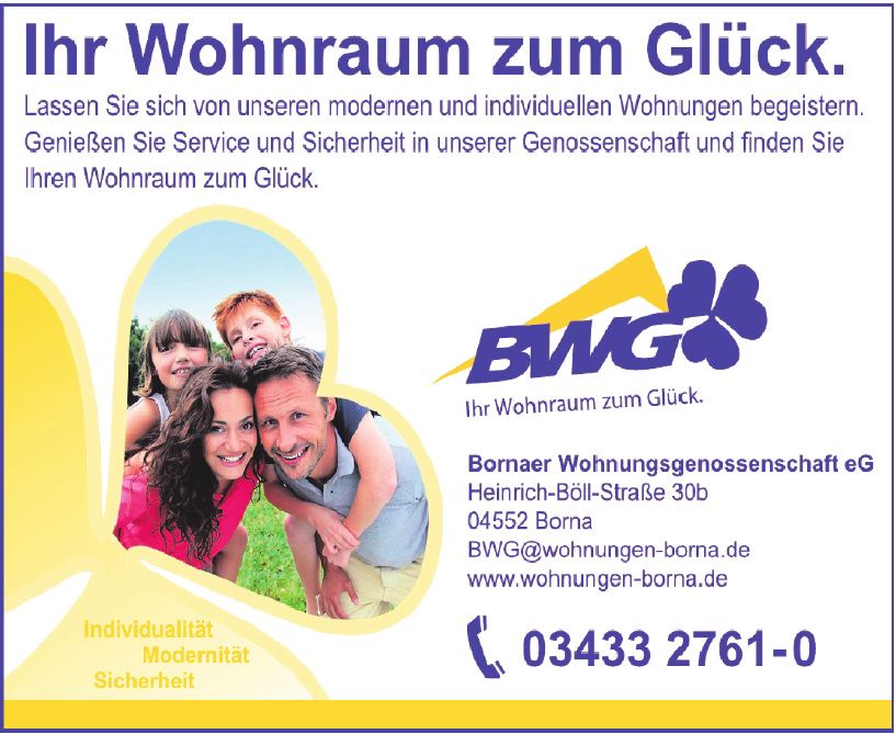 Bornaer Wohnungsgenossenschaft eG