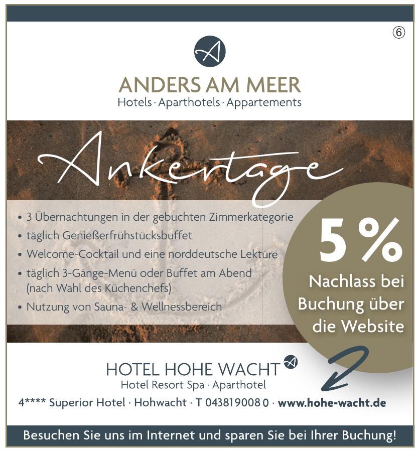 Hotel Hohe Wacht KG
