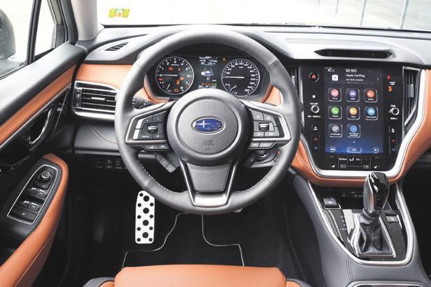 Der neue Subaru Outback kann ab sofort Probe gefahren werden. Foto: zvg