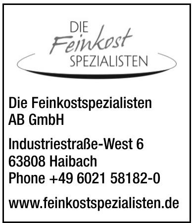 Die Feinkostspezialisten AB GmbH