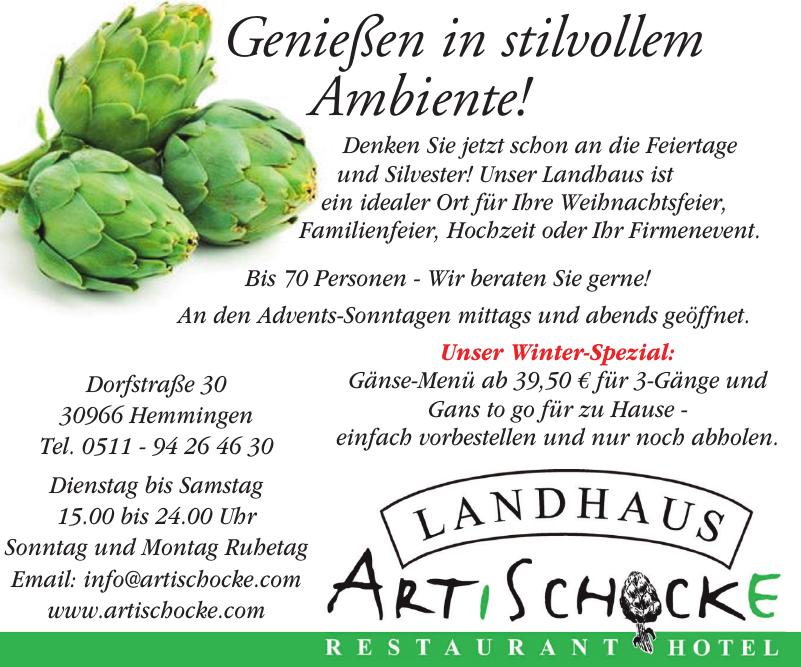 Landhaus Artischocke