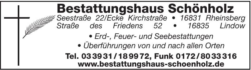 Bestattungshaus Schönholz
