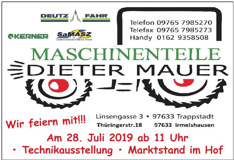 Maschinenteile Dieter Mauer