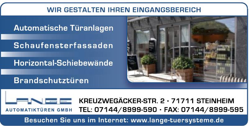 Lange Automatiktüren GmbH