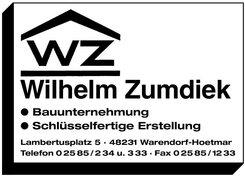 WZ Wilhelm Zumdiek