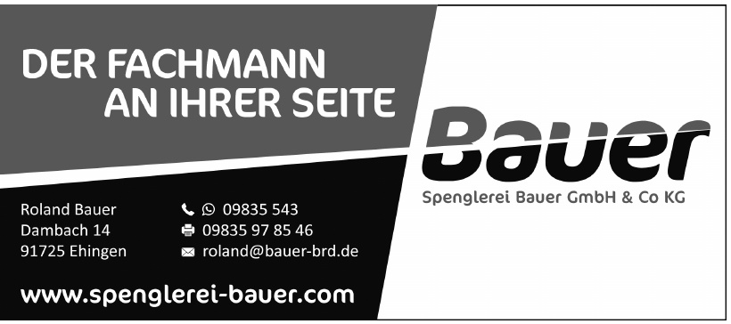 Spenglerei Bauer GmbH & Co. KG