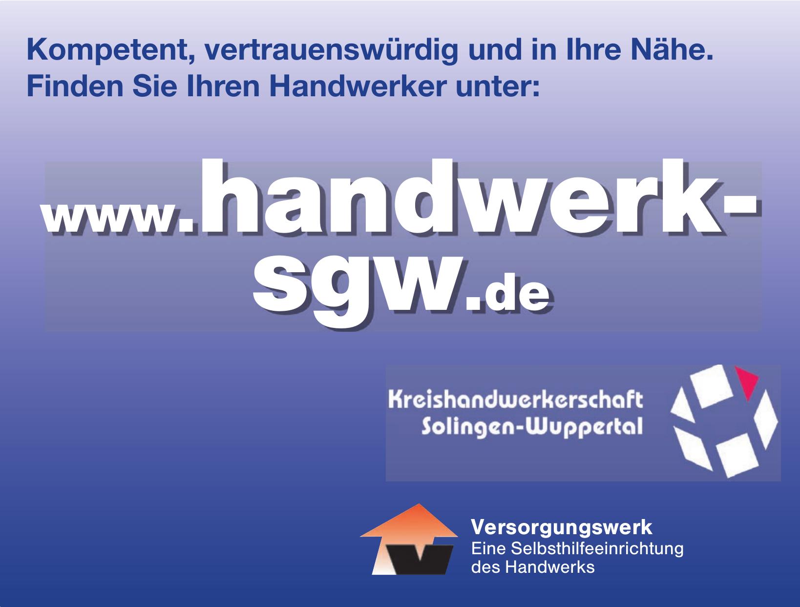 Kreishandwerkerschaft Solingen-Wuppertal