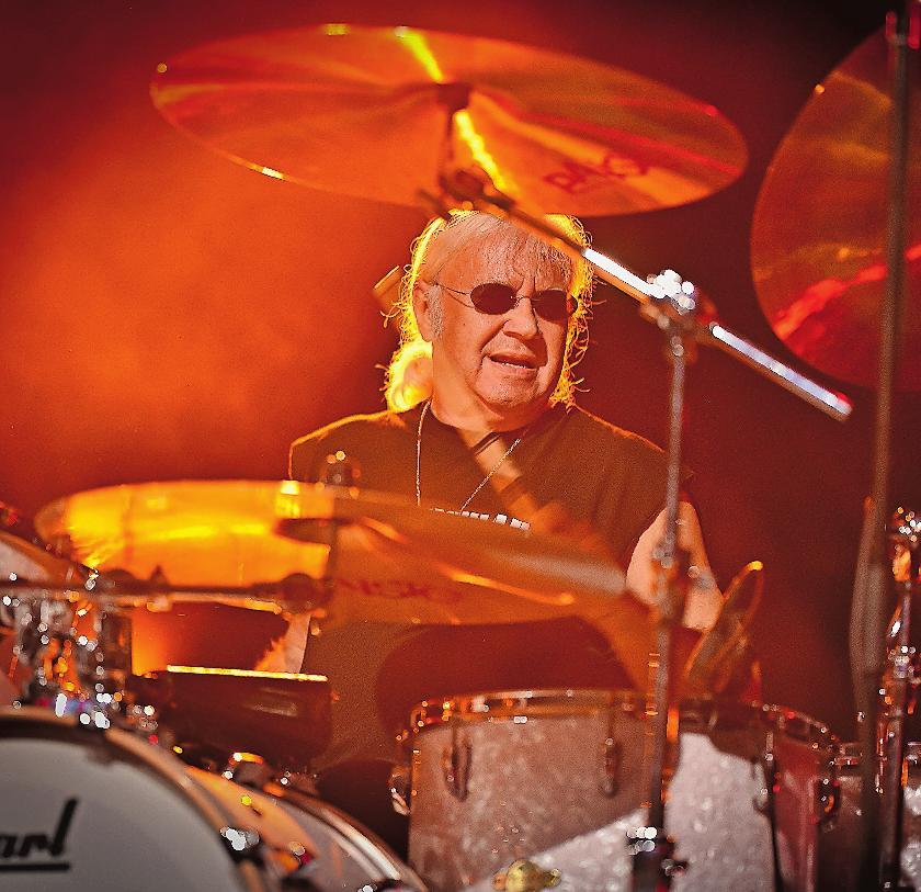 Schlagzeuglegende: Ian Paice. FOTO: POPPECK/FREI