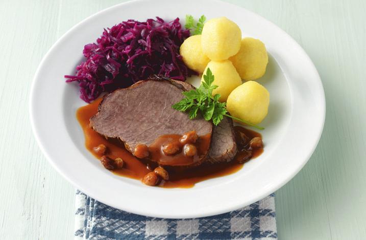 Die Kuriere der Landhausküche bringen ein leckeres Mittagsgericht direkt ins Haus. (Bild © apetito)