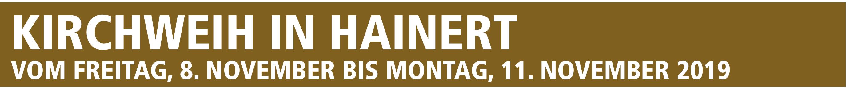 """Hainert – Der Ortsname bedeutet """"gehauener Wald"""" Image 1"""