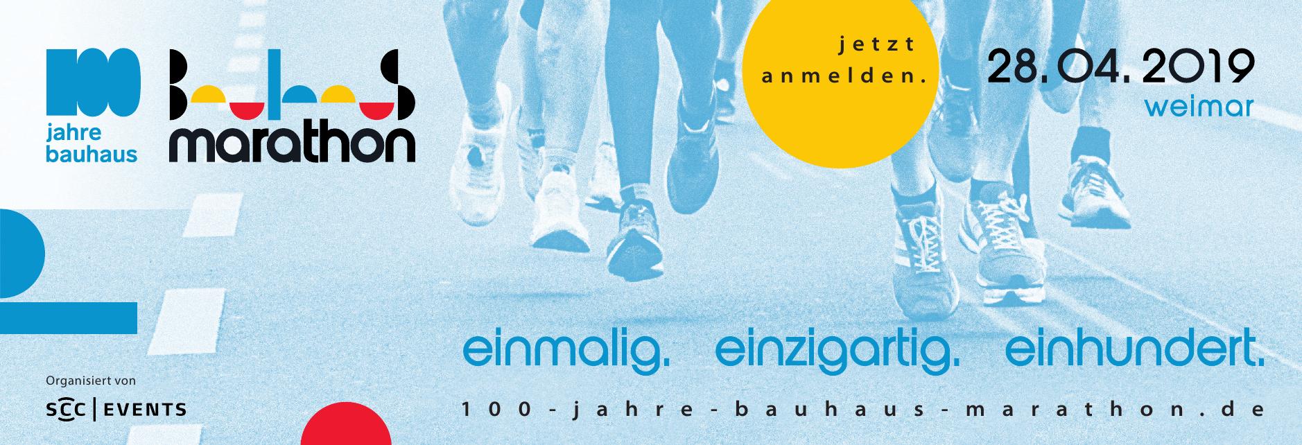 100 jahre bauhaus marathon