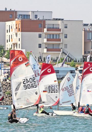 Die Segelregatta Z1-Cup findet in diesem Jahr zum dritten Mal statt.