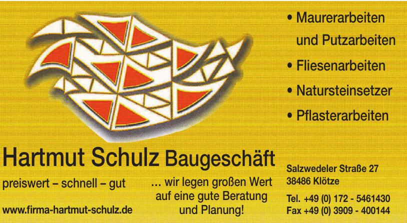 Hartmut Schulz Baugeschäft