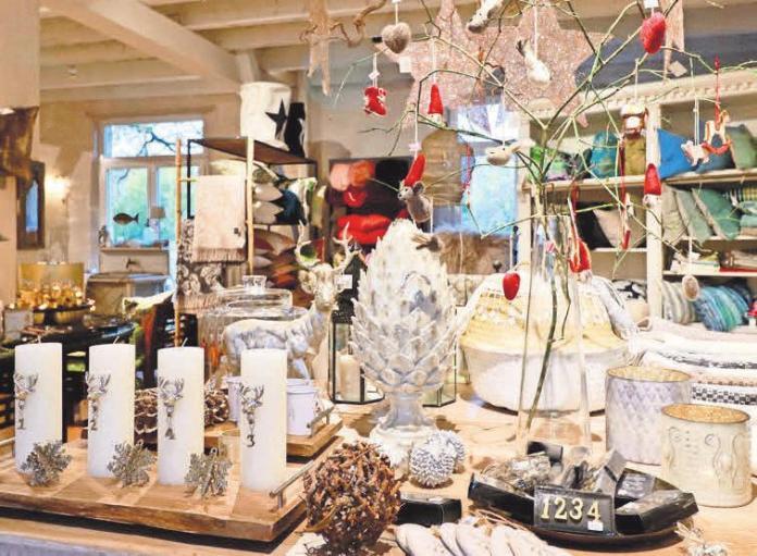 Weihnachtsdüfte, Windlichter und alles für die Festtafel – bei Home & Garden können Besucher viele Geschenkideen entdecken.