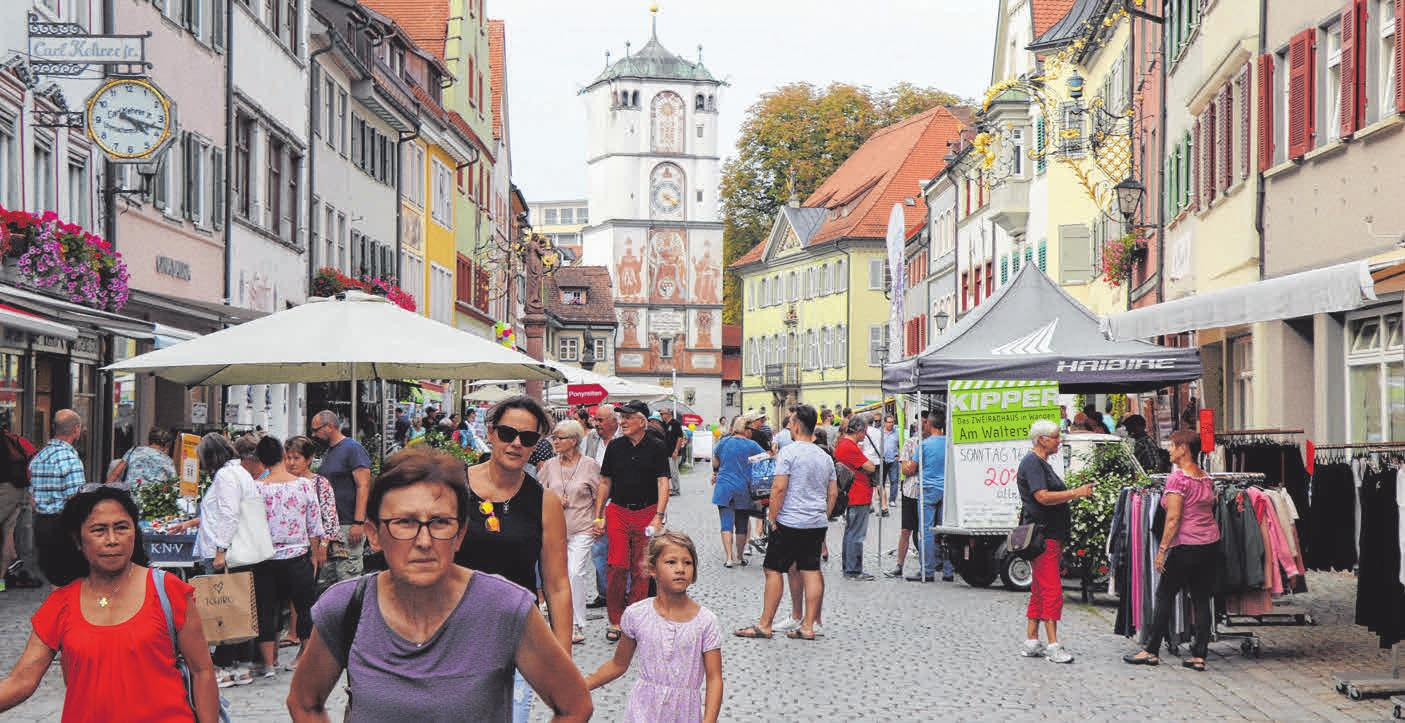 Die Allgäustadt bietet immer wieder neue attraktive Geschäfte und Lokale.Fotos: Archiv/nic